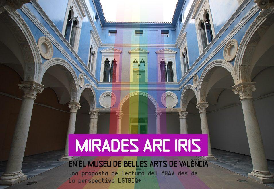 Mirades Arc Iris en el Museu de Belles Arts de València