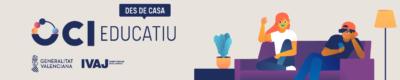Sigue nuestra programación para #IVAJdesdecasa