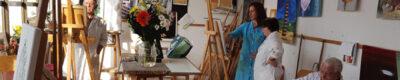 Exposición del taller de artes plásticas de Mislata